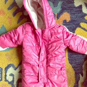 Old Navy One Pieces - 6-12 mo girl snow suit by Old Navy